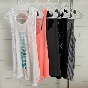 Lot of 5 Workout / Gym Tops 💪🏼